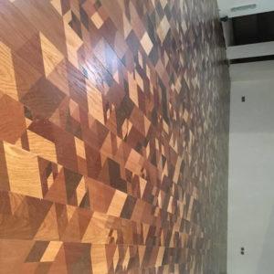Укладка инженерной доски в коттедже, М.О., КП Этюд Фэмели Клаб