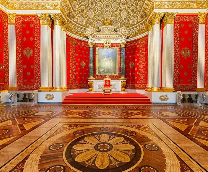Петровский (Малый тронный) зал Эрмитажа
