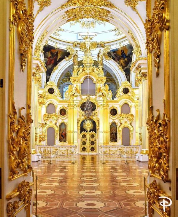 Соборный зал Эрмитажа