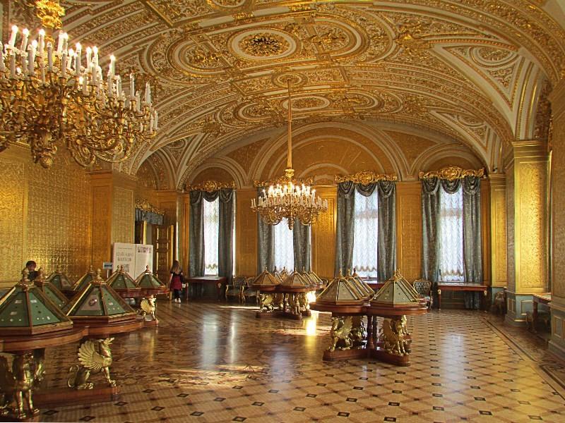 Золотая гостиная Эрмитажа