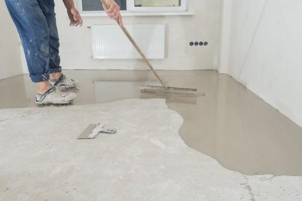 Укладка инженерной доски на бетон